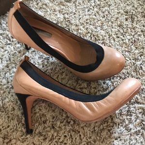 Heels all leather